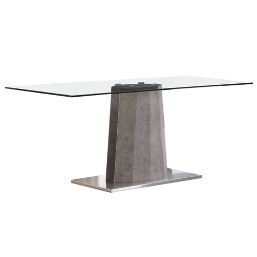 Candace & Basil Furniture |  Dining Table - Grey