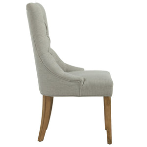 Accent Chair - Grey W/Grey Leg