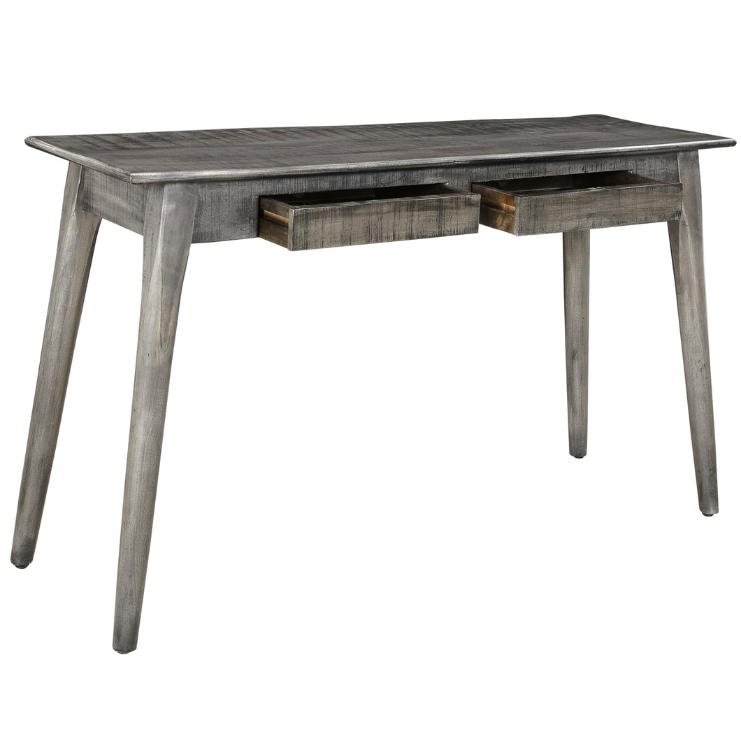 Console - Distressed Grey