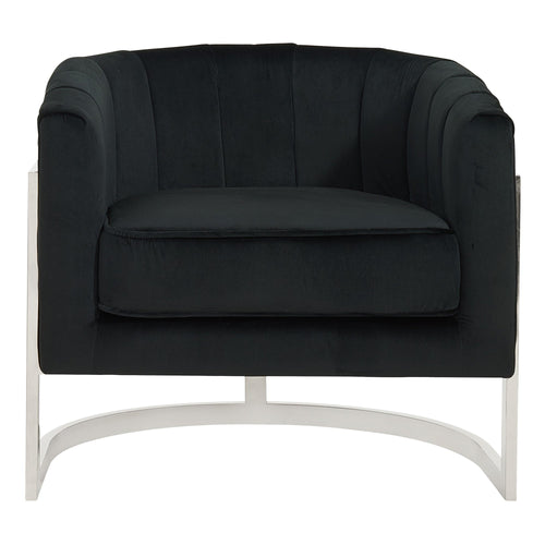 Candace & Basil Furniture |  Accent Chair - Black