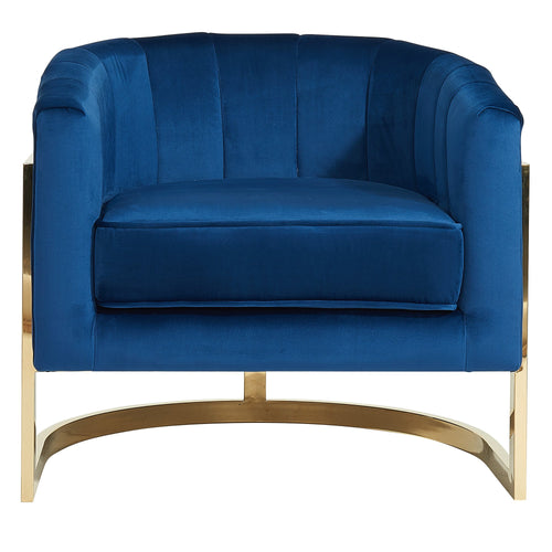 Candace & Basil Furniture |  Accent Chair - Blue