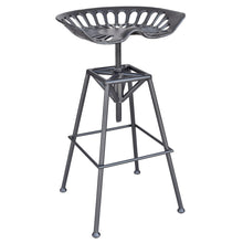 Load image into Gallery viewer, Adjustable Stool - Gunmetal