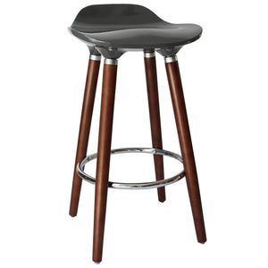 "Candace & Basil Furniture |  26"" Counter Stool - Grey (Set Of 2)"