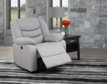 Load image into Gallery viewer, Lay-Flat Power Recliner - Light Grey