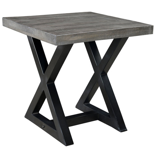 Candace & Basil Furniture |  Accent Table - Distressed Grey