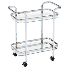 Load image into Gallery viewer, Candace & Basil Furniture |  2 - Tier Trolley - Chrome