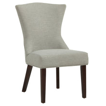 Load image into Gallery viewer, Candace & Basil Furniture |  Accent Chair - Grey w/ Coffee Legs