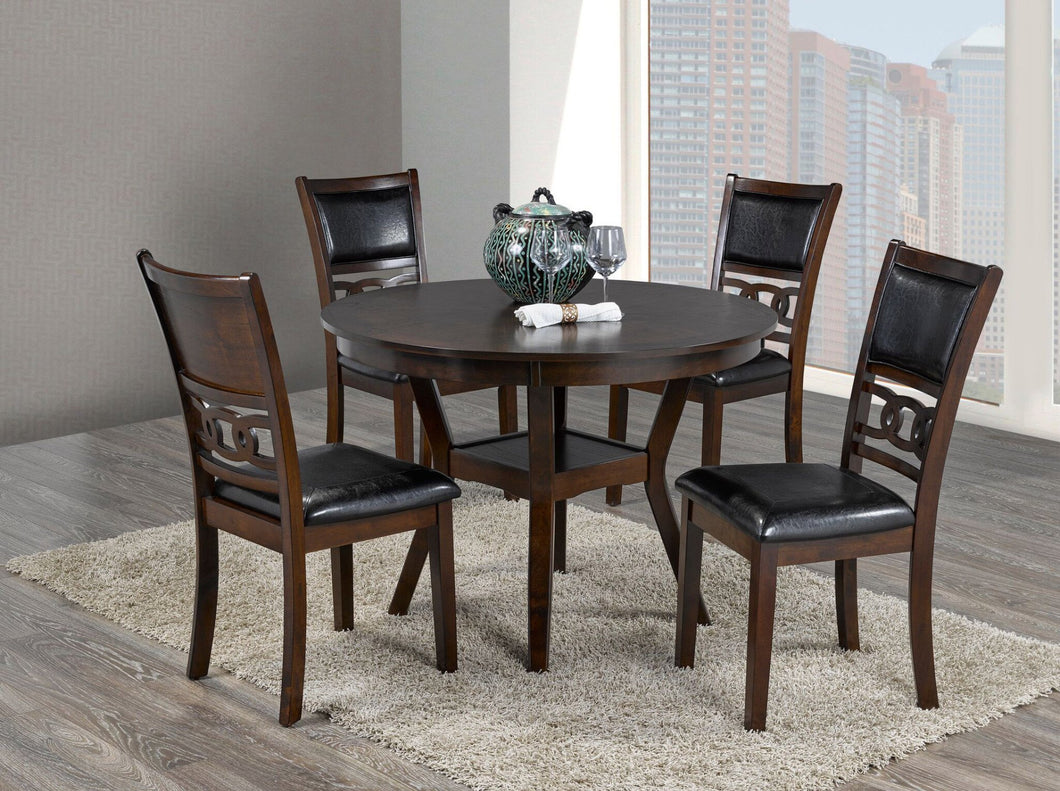Candace & Basil Furniture |  Tristan 5pc Dining Set (Table + 4 Chairs)