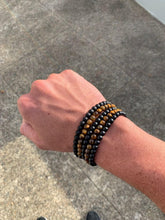 Load image into Gallery viewer, Amuleto Tiger's Eye Bracelet for Men
