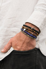 Load image into Gallery viewer, Amuleto Lapis Lazuli Bracelet for Men
