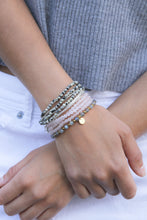 Load image into Gallery viewer, Amuleto Rose Quartz Wrap Bracelet - Small bead