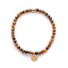 Load image into Gallery viewer, Amuleto Tiger's Eye Bracelet - Small bead