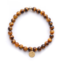 Load image into Gallery viewer, Amuleto Tiger's Eye Bracelet