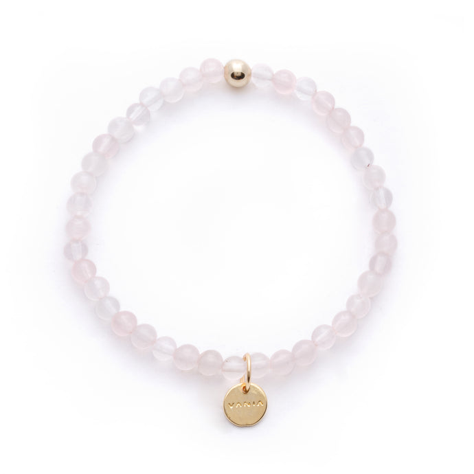 Amuleto Rose Quartz Bracelet - Small bead