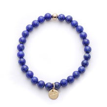 Load image into Gallery viewer, Amuleto Lapis Lazuli Bracelet