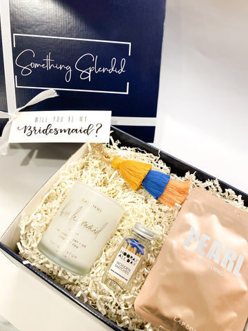 Bridesmaid Proposal Gift Will You Be My Bridesmaid Gift Box