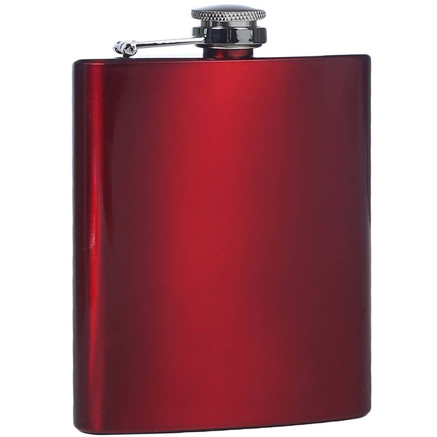 Red Stainless Flask