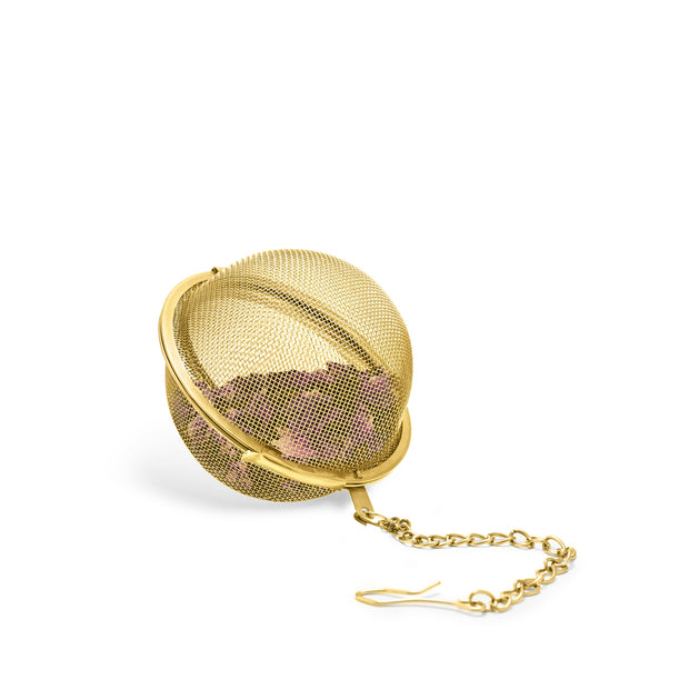 Small Tea Infuser Ball in Gold by Pinky Up®