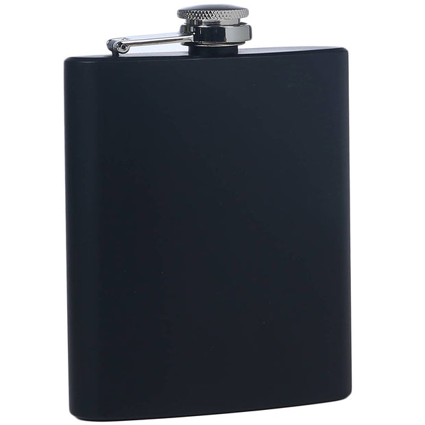 Black Stainless Flask