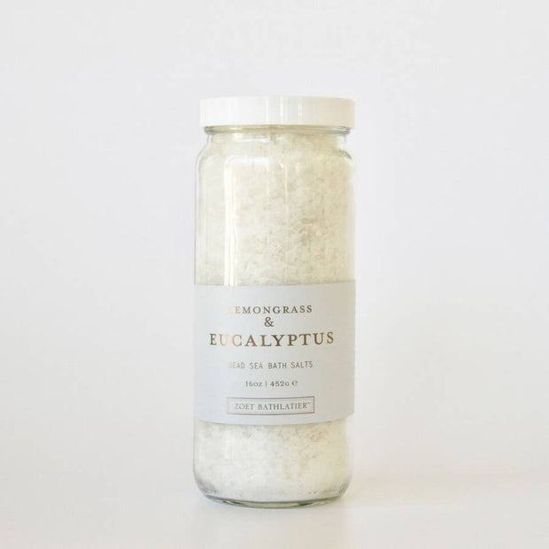 Lemongrass & Eucalyptus Dead Sea Bath Salt