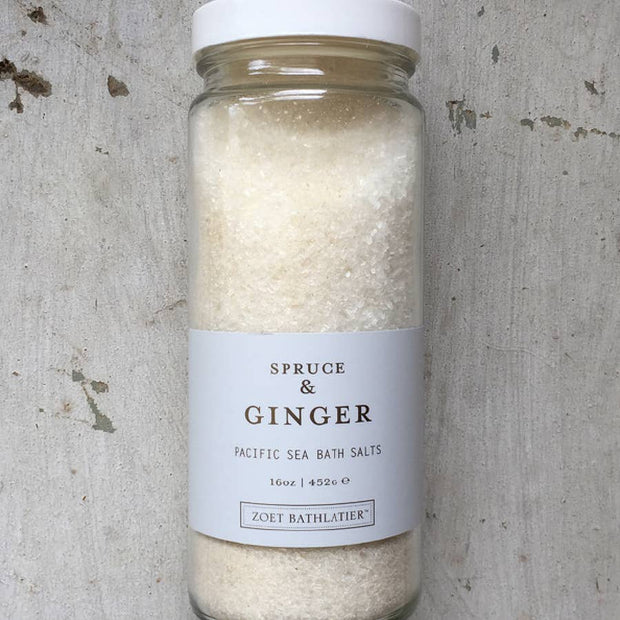 Spruce & Ginger Bath Salt