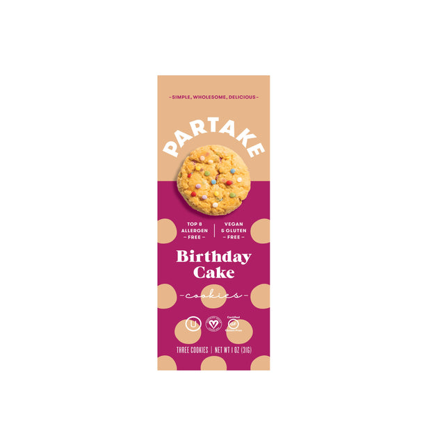 Snack Pack - Crunchy Birthday Cake