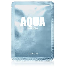 Something Splendid lapcos face sheet mask aqua hydrating