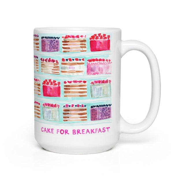 Evelyn Henson - Cake For Breakfast Mug