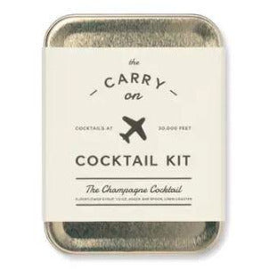 The Champagne Carry-On Cocktail Kit