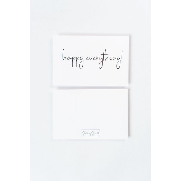 Happy Everything! Card