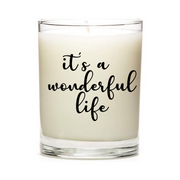 It's A Wonderful Life Candle
