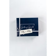 Something Splendid Best Wishes for the Misses gift box gift wrap with mr. and mrs. tag