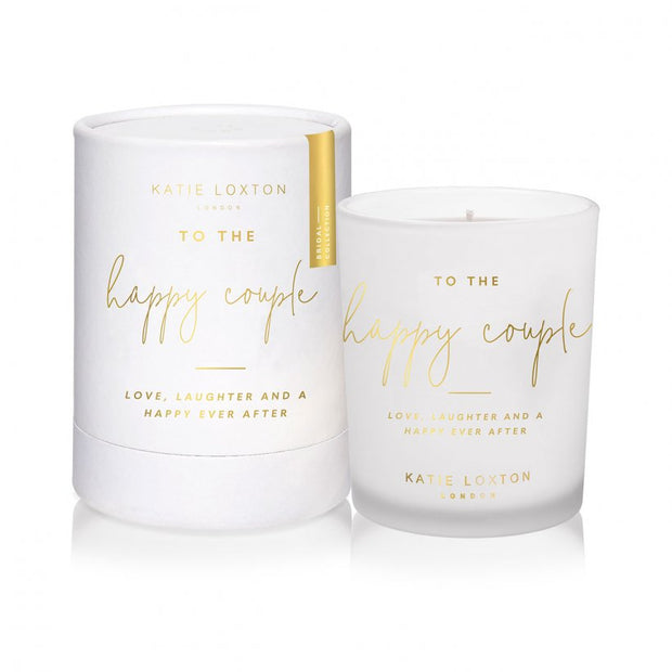 To The Happy Couple Candle