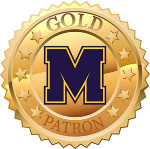 $50 Gold Patron Decal