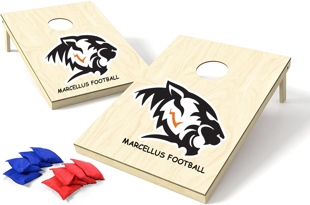 Marcellus Rocket Football Corn Hole Game