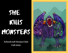 Load image into Gallery viewer, She Kills Monsters Calendar