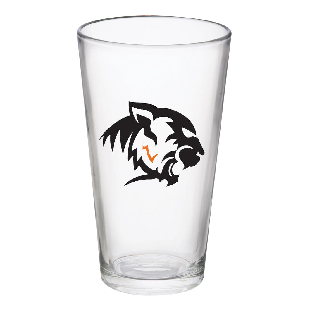 Marcellus Football 12oz Glass
