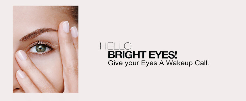 Dominique Bossavy – Hello, Bright Eyes! Give your Eyes a Wakeup Call.