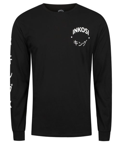 Black Unisex BOX Longsleeve - INKOSI-APPAREL