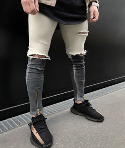 Contra Ripped Jeans - INKOSI-APPAREL