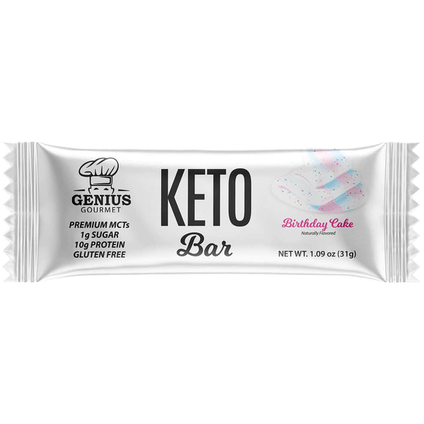 Keto Bars - Birthday Cake