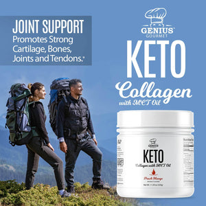 Keto Collagen with MCT OIL - Peach Mango