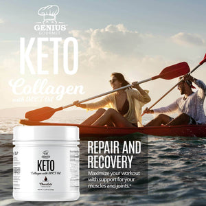 Keto Collagen with MCT OIL - Chocolate