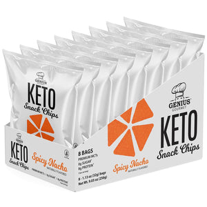 Keto Snack Chips - Spicy Nacho