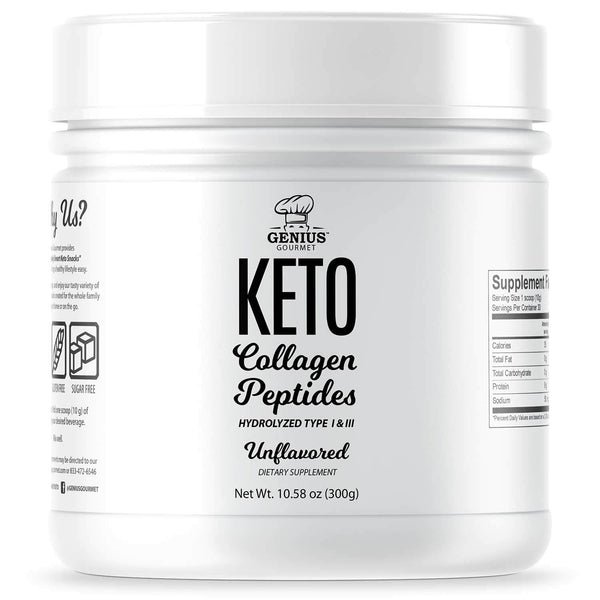 Keto Collagen Peptides - Unflavored