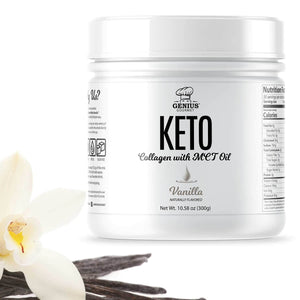 Keto Collagen with MCT OIL - Vanilla