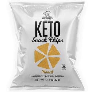 Keto Snack Chips - Ranch