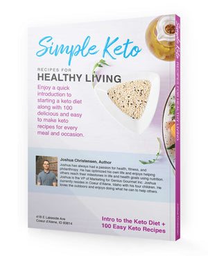 Simple Keto Recipes for Healthy Living - eBook