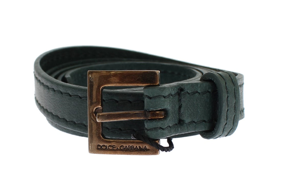 Green Leather Belt - EnModaLife.Com