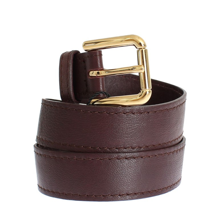 Purple leather belt - EnModaLife.Com